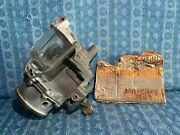 1949 Mercury Nors Fuel Vacuum Pump With Glass Bowl Filter