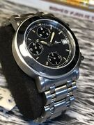 Baume And Mercier Mens Chronograph Watch. Automatic Steel