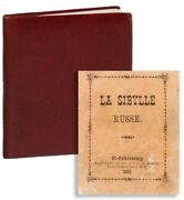 [fortune-telling] La Sibylle Russe 1st Thus St. Petersburg 1881 Vg Condition