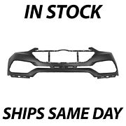 New Primered Front Bumper Cover Replacement For 2017 2018 Hyundai Santa Fe Sport