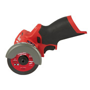 12 Volt 3 Lithiumion Brushless Cordless Cut Off Saw Tool Only 1 Metal Cut Wheel