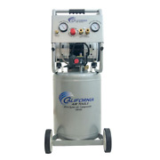 10 Gal 2.0 Hp Ultra Quiet Oil Free Electric Air Compressor Increases Duty Cycle