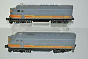 Lionel 6-8555, 6-8557 Milwaukee Road F-3 Diesel Engine Set Powered And Dummy Ob