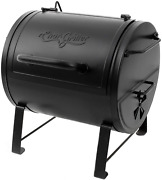 Side Fire Box Charcoal Grill Heavy Steel Equipment Smoker Portable Table Top