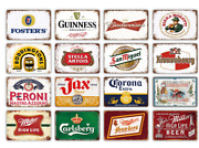 Vintage Metal Tin Signs Retro Poster Beer Plaque Pub Club Plate Home Wall Decor