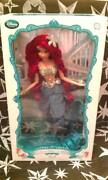Disney Store Ariel The Little Mermaid 17 Limited Edition Doll 2013 Sold Out