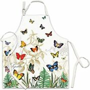Michel Design Works Papillon Butterfly Apron Free Shipping New