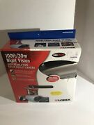 Lorex High Resolution Bullet Camera With Color Night Vision - White