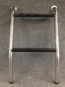 Cockpit Steps Fixed Two Steps Matt Stainless Steel New Old Stock