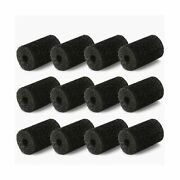 Muscccm For Polaris Pool Cleaner Parts 12 Pack Sweep Hose Tail Scrubbers Rep...
