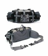 Bp Vision Outdoor Fanny Pack Hiking Camping Fishing Waist Bag 2 Water Bottle ...