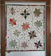 Wall Hanging Long Time Garage Find 2 English Countryside Quilted 34 X 40