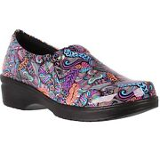 Womenand039s Easy Works 20-0344 Bright Pop Multi Slip-on Comfort Boot Shoes
