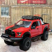 2017 Ford F-150 Raptor 4x4 Pick Up Truck 124 Scale Diecast Model Car By Maisto