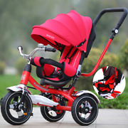 Can Sit Lie Baby Stroller 3 In 1 Portable Baby Tricycle Bike Baby Carriage 3 Whe