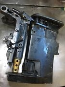 Exhaust Housing And Transom Brackets From A 25 Hp Mercury Outboard Motor 1999