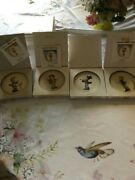 Hummel Miniature Collector Plates Set Of 4 Music Makers Free Shipping