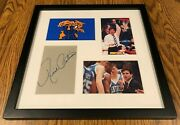 Rick Pitino Autograph Autographed Signed Framed Kentucky Wildcats Basketball