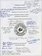 Enola Gay Crew - Book Signed With Co-signers