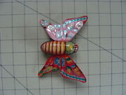 Alps Metal Butterfly Sel Propelled Toy