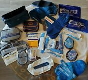 30+ Airline Vanity Collectiblescathay Pacific Suede Bagtwapan Ambrit Caledon