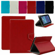 Premium Universal 7 Folio Stand Leather Case Cover Skin For 7-inch Tablet