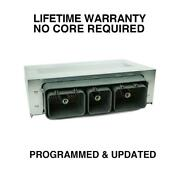 Engine Computer Programmed/updated 2000 Lincoln Ls Xw4f-12a650-afd Wok3 3.9l