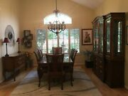 Thomasville Dining Set - Elysee Style Table 8 Side Chairs Price Cut