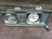 Unidentified Early 70s Cadillac Front Light Used For Restoration