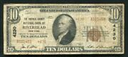 1929 10 Tyii The Suffolk County Nb Of Riverhead, Ny National Currency Ch 4230
