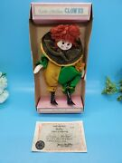 Dolls By Bradley 7 Little Nellies Clown Vintage Box Green And Gold Collectible