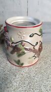 Yankee Candle Winter Birds In Christmas Tree Lights Wax Warmer Home Fragrancer