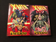 X-men Inferno Complete Collection Tpb Vol 1 And 2 Set - Uncanny X-factor Lot Run