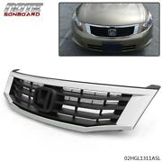 Fit For Honda Accord 2008 2009 2010 4-door New Front Mesh Grille And Grille Frame