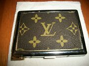Cigarette Case With Built In Lighter Preowned Out Of Fluid