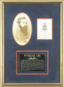 Fitzhugh Lee - Book Plate Signed 02/09/1899