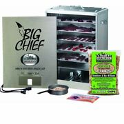 Front Loading Electric Fish Meat Slow Cook Smoker Flavor Fuel Pan Smoke Recipes