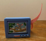 Fisher Price Sweet Sounds Loving Family Dollhouse Television Tv Living Room