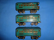 Rare American Flyer Golden State Short Cars 2 3181 Pullmans And 3182 Observation