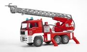 Bruder Man Fire Engine Truck With Ladder Collection Toy Car Model 1/16 116