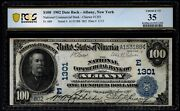 1902 100 National Commercial Bank Of Albany New York Ny Pcgs 35 Fr.689 Ch1301