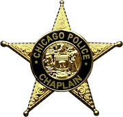 Chicago Police Department Star Lapel Pin Chaplain