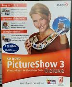 Ulead Pictureshow 3 Photo Album And Sideshow Suite Deluxe Cd-rom Software