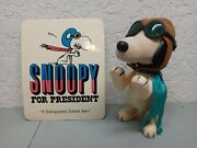 Snoopy Aviator Pilot Flying Ace Red Baron Complete W/ Goggles Cap Scarf Postcard