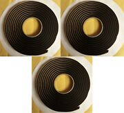 Qty 3 Butyl Tape 3m 1/4x15ft Back Glass Placement For Automotive Body Shops