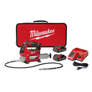 18 Volt Lithiumion Cordless Grease Tool 1.5ah Batteries Lock On Lock Off Trigger
