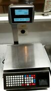 Torrey Scale Commercial 40lbs Label Maker Class Iii W-label40l Double Sided Led