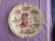 Will Rogers 1879 - 1935 , Collectors Plate, By Vernon Kilns