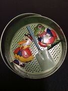 J. Chein-usa Vintage Sand Sifter With Shovel And Toys