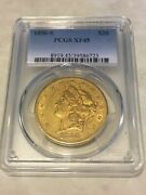1856-s Xf45 Pcgs Liberty Double Eagle Type 1 20 Gold Coin Eye Clean Nice Appeal